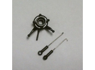 Swashplate with (2 ea.) Pushrods - BLH2716