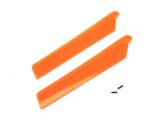 Main Rotor Blades, Orange (2): MSRX - BLH3216OR