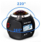 360° Mini WiFi Panoramic Video Camera 2448P 30fps 16MP Photo 3D Sports DV VR Video And Image ABS - B1059241