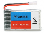 Eachine 3.7V 750mah 25C Lipo Battery for Eachine E30 E30W Syma - 995303