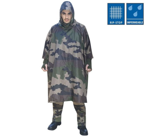Poncho US polyester Ripstop - T7285000