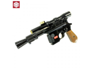 Blaster Ian Solo Lunette et Cache Flamme - GBB - Full Metal - 6MM - Armorer Works Custom - M712 *LIMITED EDITION*
