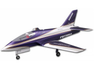 Jet Futura Purple (Violet) 80mm EDF PNP kit TBC FMS - FMS095P