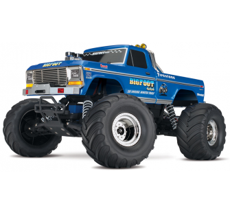 BigFoot N°1 2WD 1/10 Brushed TQ 2.4Ghz ID Traxxas - TRX36034-1