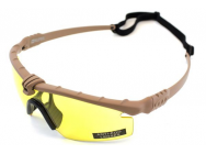 Lunettes Battle Pro Thermal Tan/Jaune - Nuprol - A69680