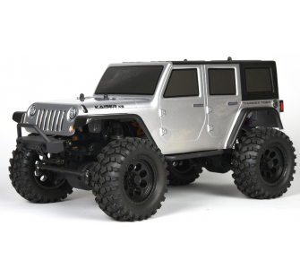 Kaiser XS Off-Road 4WD SILVER RTR - T6602-F132-A2