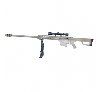 CCCP - Sniper type barrett M81A1 - TAN - Spring - 1.1J - 6mm with scop - RD0005