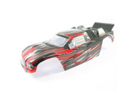 FTX SIEGE RED PAINTED TRUGGY BODY - FTX6698