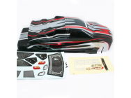 FTX CARNAGE ST PRINTED BODY - OPTION BLACK/RED - FTX6344