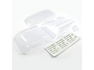 FTX FUTURA CLEAR BODY PANELS W/DECAL SHEET - FTX7736C