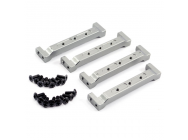 FTX OUTBACK ALUMINIUM CHASSIS FRAME BLOCK (4) - FTX8243
