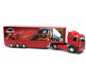 Camion MAN 19.603 et container 40 - NRY-86283