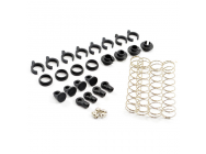 FTX OUTBACK SPRING SET & NYLON  PARTS (4) - FTX8149