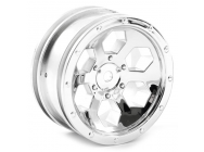 FTX OUTBACK 6HEX WHEEL (2) - CHROME - FTX8168C