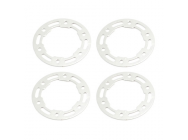 FTX IBEX ALUMINUM WHEEL BEADLOC RINGS & SCREWS (4) - FTX7417