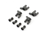 FTX IBEX SHOCK TOP MOUNT & WHEEL HUB CARRIERS - FTX7429