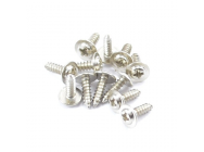 FTX FLANGE HEAD SELF TAPPING SCREWS 2.3 X 8MM (12) - FTX7299