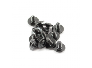 FTX FLANGE HEAD SELF TAPPING SCREWS 2.6 X 5MM (12) - FTX7300