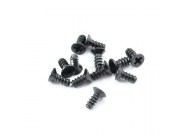 FTX COUNTERSUNK SELF TAPPING SCREW 2.6 X 6MM (12) - FTX7289