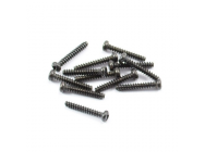 FTX ROUND HEAD SELF TAPPING SCREW 2.6 X 15MM (12) - FTX7292