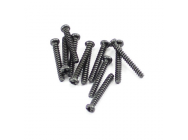 FTX ROUND HEAD SELF TAPPING SCREWS 2.3 X 16MM (12) - FTX7298