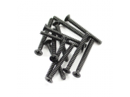 FTX COUNTERSUNK SELF TAPPING SCREW 2.6 X 25MM (12) - FTX7304