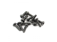FTX ROUND HEAD SELF TAPPING SCREW 2.6 X 8MM (12) - FTX7305