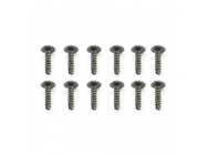 FTX IBEX FLANGE HEAD SELF TAPPING SCREW 2X8MM (12) - FTX7453