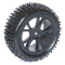 FTX VANTAGE FRONT BUGGY TYRE MOUNTED ON WHEELS (PR) - BLACK - FTX6300B