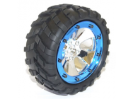 FTX MOUNTED WHEEL AND TYRE SET PR (SPYDER) - FTX5915