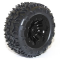 FTX CARNAGE MOUNTED WHEEL/TYRE COMPLETE PAIR - BLACK - FTX6310B