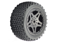 FTX SURGE REAR BUGGY MOUNTED WHEELS/TYRES (PR) - FTX7222
