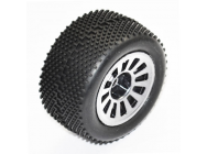 FTX COLT BUGGY WHEEL/TYRE SET 2SETS - WHITE - FTX6887