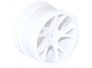 FTX VANTAGE REAR WHEEL 2PCS - WHITE - FTX6306W