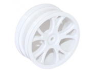 FTX VANTAGE FRONT BUGGY WHEEL 2PCS - WHITE - FTX6305W