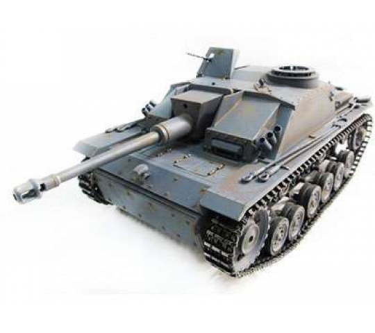 Stug III 1/16 FULL METAL & EFFETS SONORES & FINITION MAQUETTE - 23082-COPY-1