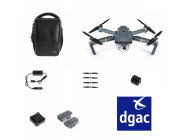 DJI MAVIC COMBO FLY MORE HOMOLOGUE DGAC S1S2S3
