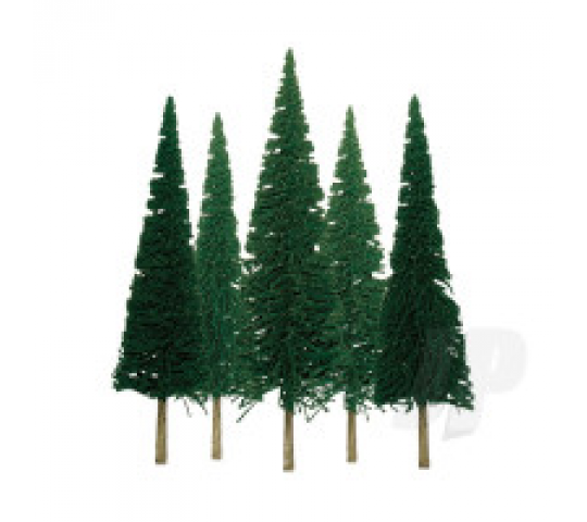 92002 Scenic-Pine, 2  to 4 , N-Scale, (36 per pack) - JTT92002