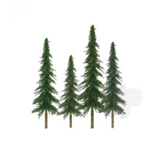 92028 Econo-Spruce, 6  to 10 , O-Scale, (12 per pack) - JTT92028