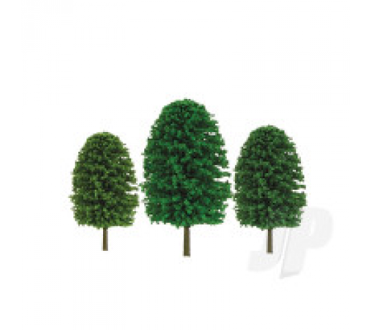 92035 Scenic-Tree, 3  to 4 , HO-Scale, (24 per pack) - JTT92035
