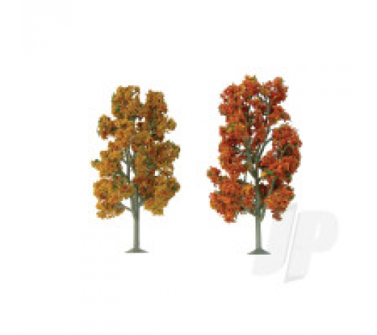 92106 Scenic Fall Sycamore, 7.5  to 8 , O-Scale, (2 per pack) - JTT92106