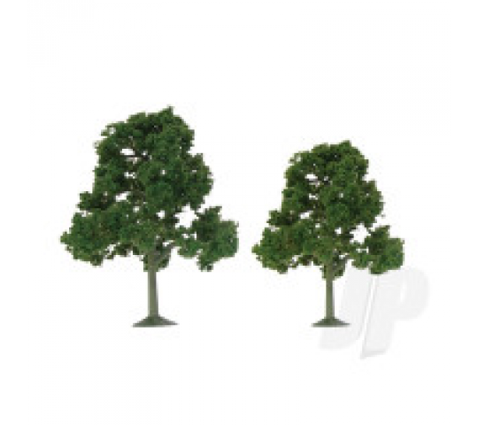 92108 Scenic Deciduous, 3.5  to 4 , HO-Scale, (4 per pack) - JTT92108