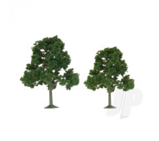 92109 Scenic Deciduous, 5.5  to 6 , O-Scale, (2 per pack) - JTT92109