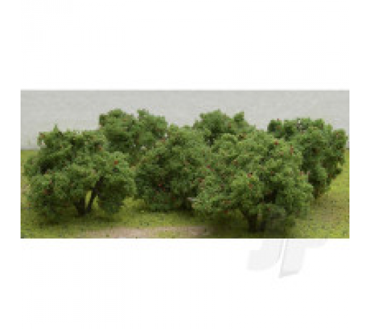 92122 Apple Tree Grove, 2  to 2-1/4  Tall, (6 per pack) - JTT92122