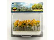 95622 Arbres de sous bois, Fall Mixed, N-Scale, (15 per pack) - JTT95622