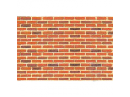 97422 Brick, HO-Scale, 1/100, (2 per pack) - JTT97422