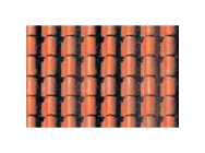 97435 Spanish Tile, 1/48, O-Scale, (2 per pack) - JTT97435