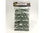 97470 Outcroppings, All-Scale, (2 per pack) - JTT97470
