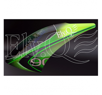 EQ90075 Canopy peinte vernie  The Lizard  (V90) - ELYQ-8707401A