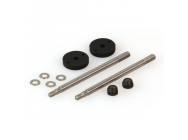 Shock Shaft Set, Big Bore, Front (Dominus) - HLNA0239